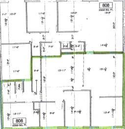 808-A floor plan