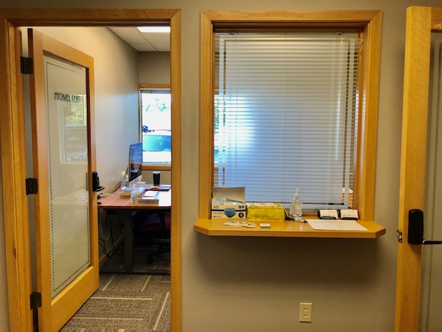 office-with-check-in-window